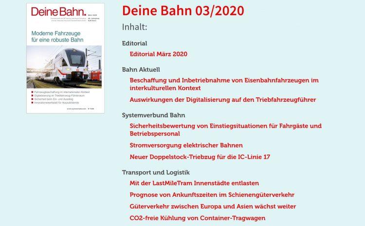 Deine Bahn Magazin